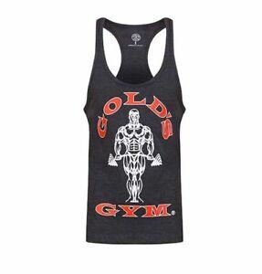 Golds Gym Tank Top Stringer Joe Premium dunkelgrau - Charcoal Marl