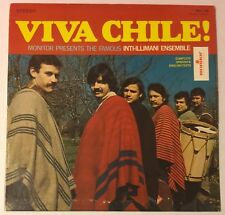 INTI-ILLIMANI ENSEMBLE Viva Chili! LP Monitor Chili folk