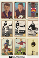 AFL Hall Of Fame Trading Card Club Card Collection(1996-2012) Fitzroy+Brisb(11)