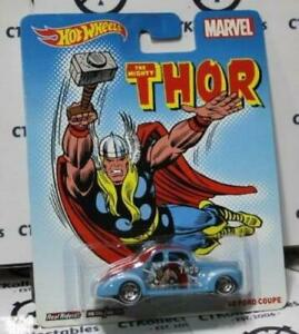 HOT WHEELS MATTEL THE MIGHTY THOR MARVEL '40 FORD COUPE 2014