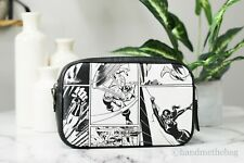 Coach 1908 X Marvel Jes Crossbody With Comic Book Printed Shoulder Bag