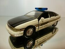 ROAD CHAMPS CHEVROLET CAPRICE STATE TROOPER  1996 - CREAM 1:43 - EXCELLENT - 7