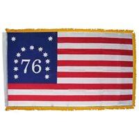 "12x18 12/""x18/"" Wholesale Lot of 6 Historical Bennington 1776 30/"" Stick Flag"