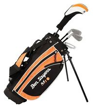 Set da Golf per Bambini Mano Destra 4 Club 9 to11 anni Junior Stand Bag principianti