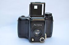 Nice Bakelite camera  VEB Rheinmetall, Perfekta, 1954. Achromat 7,7/80 mm