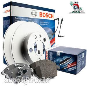 Bosch Bremsscheiben und Bremsbeläge mit Wkt BMW 3er und Z3 E36 Satz vorne
