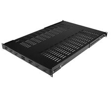 StarTech 1U 19 inch Adjustable Vented Rack Mount Shelf Heavy Duty Fixed Server