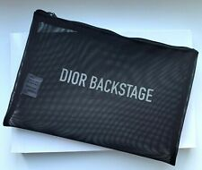 DIOR COSMETIC/MAKEUP BAG POUCH CLUTCH BLACK VIP GIFT RARE