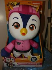 "Hasbro Playschool Top Wing Talking Plush Rod 11"" Red & White Bird 2019 rare"