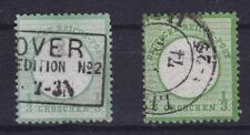 SCUDO del petto mi N. 17 Gest. farbenlot Deutsches Reich 1872