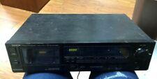 VINTAGE DENON DR-M10HR Stereo Cassette Tape Deck Ships Immediately!!