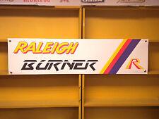 Raleigh Burner BANNER BMX Bicycle retro Advertising Team Aero Pro