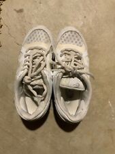 Girls Size 1 Chasse White Cheer Shoes Pre Owned But Will Work Great For Practice