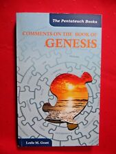 Comments On The Book of Genesis by Leslie M. Grant