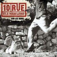 """10 RUE D´LA MADELEINE """"SUR LES MURS"""" CD NEUWARE"""