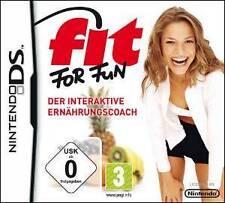 Nintendo DS 3DS FIT FOR FUN Ernährungscoach * BRANDNEU