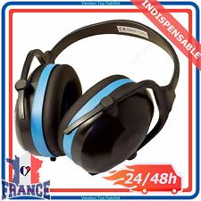 Casque Anti Bruit 30db Pliable Réglable Réduction Protection Oreilles Auditive