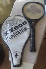 New listing Continental X-2000 Racquetball Racquet With Case