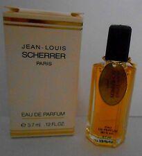 Miniature de parfum Jean Louis Scherrer EDP 3,7ml +  petite Boite