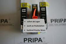 3x black pour hp 364 xl/puce/compléments photosmart 5510 5515 6510 7510 b109a b110a