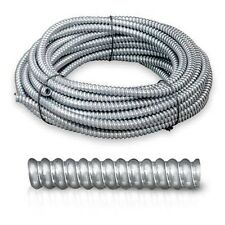 """100 feet Greenfield Flexible Metal Conduit 1"""" Shell Electrical Wiring Cover"""