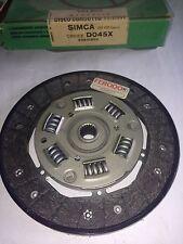 DISCO FRIZIONE SIMCA 1100-1100 SPECIAL 1968/72 DIAMETRO 180 (VALEO D045/X)