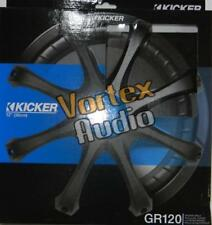 "New Kicker GR120 CAR 12"" Grille For COMPVX, SOLO CLASSIC SUBWOOFER/SUB WOOFER"