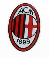 AC MILAN FC  IRON ON PATCH  BUY 2 WE SEND THREE OF THESE
