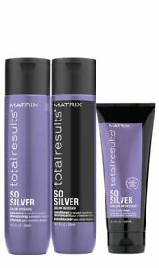 Matrix Total Results So Silver Colour Obsessed - Shampoo - Conditioner - Mask