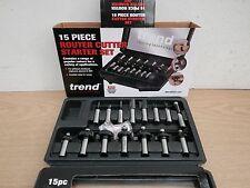 Trend Setss9tc 1/2 TC Starter Cutter Set 15 Peices Routing Technology
