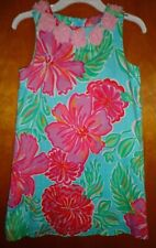 LILLY PULITZER DRESS GIRL SIZE 8 MULTI COLOR