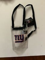 Official NFL NY New York Giants logo Clear Bag approved for stadium entry. New!