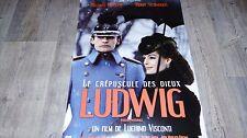 LUDWIG ! romy schneider visconti affiche cinema rare