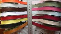 Double Faced Faux Suede Ribbon 16mmWide 3Metres + Shorter 12 Colour Choice CLD11