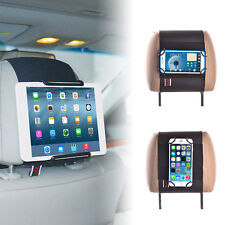 TFY Universal Car Headrest Mount Holder for Tablets and Mobile Phones