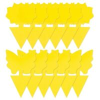 1X(60Pcs Dual-Sided Yellow Fruit Fly Sticky,Pest Control Traps for Mosquito6J3)