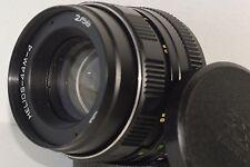 HELIOS 44M-4 2/58mm Soviet SLR Lens Pentax Zenit M42 + Adapter for Сanon EOS EF