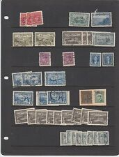 Large collection of OHMS stamps 4 hole 1930's 40's special delivery etc. Canada