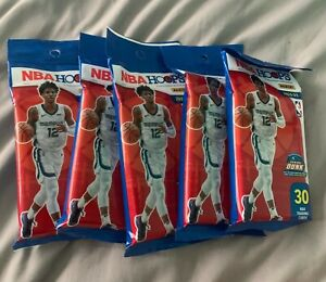 2020-21 Panini NBA Hoops - Factory Sealed Retail Fat Pack Lot of 5