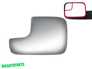 Towing Mirror Glass Replace for Dodge Ram 2500 3500 1500 Truck Driver Left Side