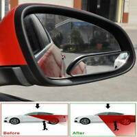 2x Car Blind Spot Mirror 360° Wide Angle Convex Rear Side View For Truck SUV