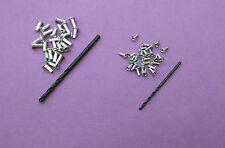 200 Pack ~ 100 Small Rivet, 100 Large Rivet + Drills Matchbox Corgi + Others