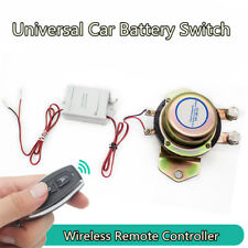 Car Wireless Remote Control Battery Switch Disconnect Latching Relay +1pc Remote