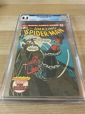 Amazing Spider-Man 148 CGC 8.5  OW/WHITE
