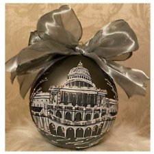 Capital Building Natalie Sarabella Blown Glass Ornament
