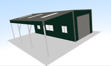 Steel Framed Buildings - Valet Bay Car Wash - 9m x 10m x 3.6m Steel Building
