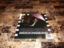 "Eminem Rare Mockingbird 12"" Vinyl EP Record 3 Track Import 2005 Rap Hip Hop D12"