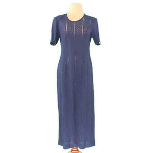 Roberta Di Camerino One piece Navy Gold Woman Authentic Used L2344