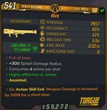 Anointed 100% Damage ASE Corrosive Hive PC Lvl 50 Legendary - BL3 Borderlands 3