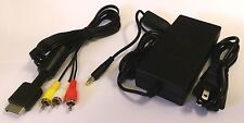 AC Power Cord & AV Composite RCA Cable for SONY PlayStation 2 (Slim Model)